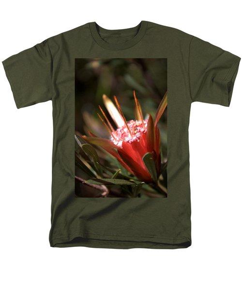 Men's T-Shirt  (Regular Fit) featuring the photograph Mountain Devil by Miroslava Jurcik