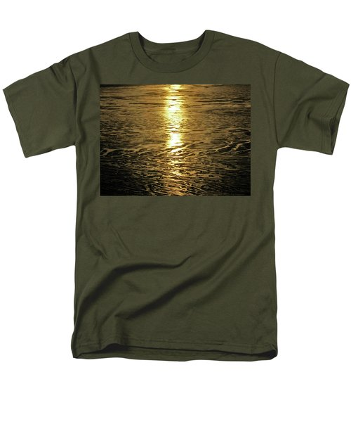 Men's T-Shirt  (Regular Fit) featuring the photograph Muddy Reflection by Jeremy Rhoades