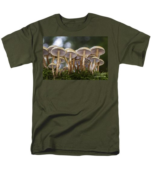Mushroom Forest Men's T-Shirt  (Regular Fit) by Sonya Lang