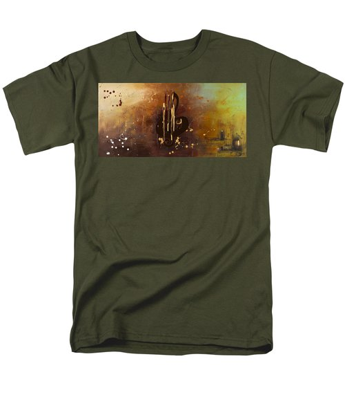 Music All Around Us Men's T-Shirt  (Regular Fit) by Carmen Guedez