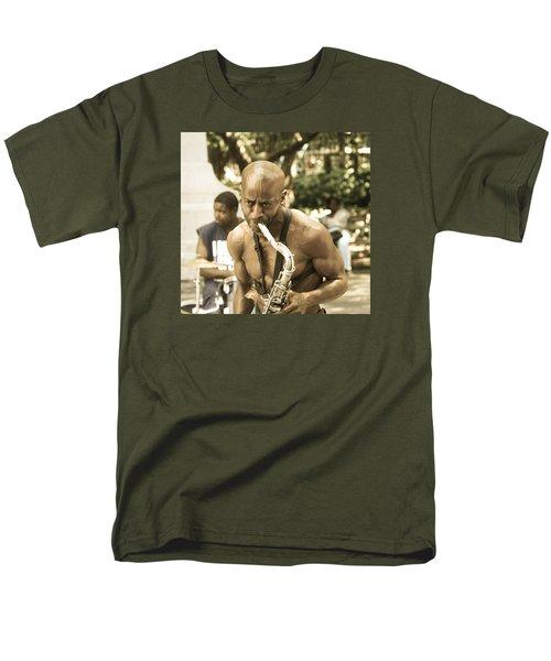 Music In The Park Men's T-Shirt  (Regular Fit) by Menachem Ganon