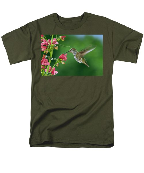 My Favorite Flowers Men's T-Shirt  (Regular Fit) by William Lee