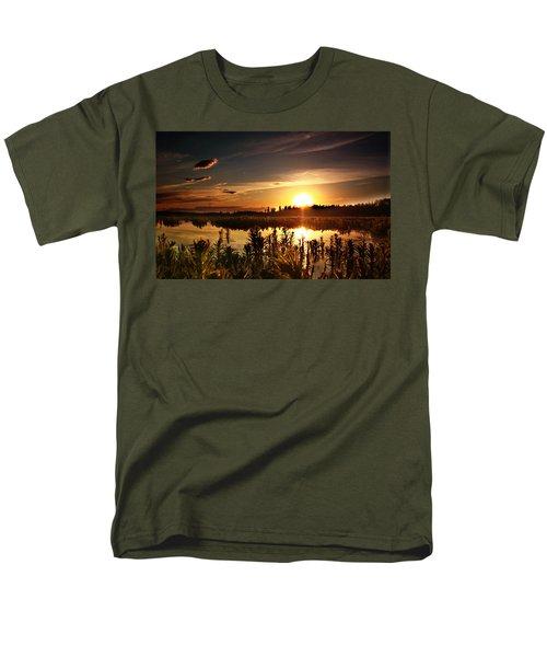 My Sandy Floors  Men's T-Shirt  (Regular Fit) by Jerry Cordeiro