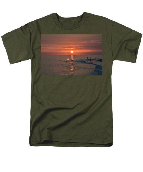 My Two Hearts Men's T-Shirt  (Regular Fit) by Melanie Moraga