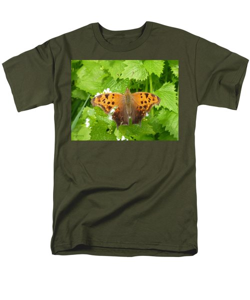 Men's T-Shirt  (Regular Fit) featuring the photograph Mystery Lady by Lingfai Leung