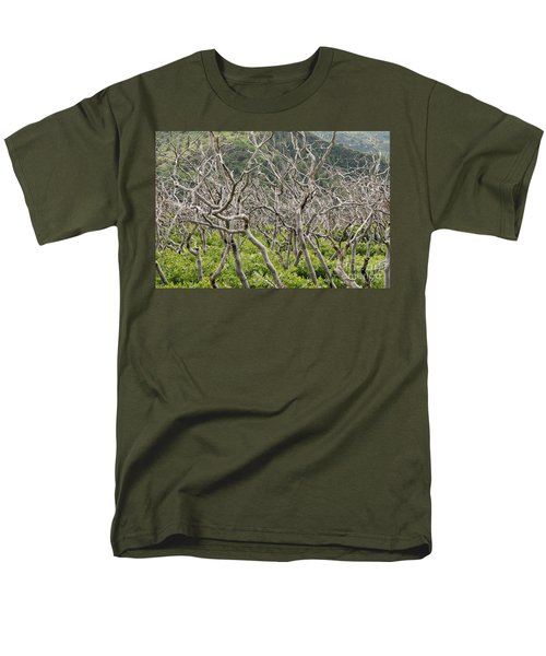Men's T-Shirt  (Regular Fit) featuring the photograph Naked Ladies Dancing by Mary Carol Story