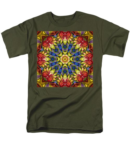 Natural Attributes 06 Square Men's T-Shirt  (Regular Fit) by Wendy J St Christopher