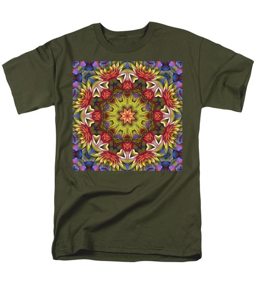Natural Attributes 18 Square Men's T-Shirt  (Regular Fit) by Wendy J St Christopher