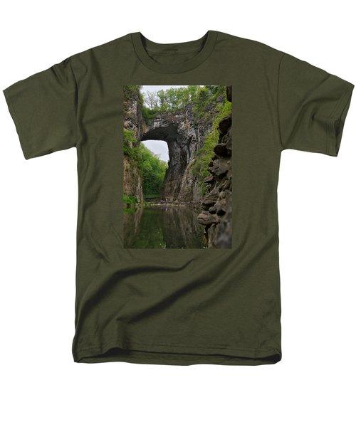 Natural Bridge Men's T-Shirt  (Regular Fit)