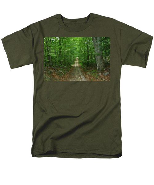 Men's T-Shirt  (Regular Fit) featuring the photograph Nature's Way At James L. Goodwin State Forest  by Neal Eslinger