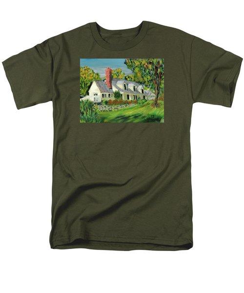 Next To The Wooden Duck Inn Men's T-Shirt  (Regular Fit) by Michael Daniels