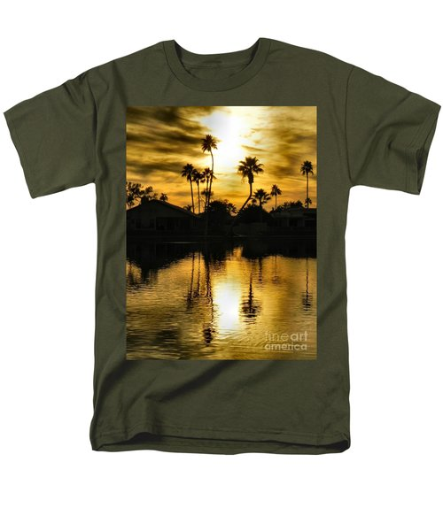 Nightfall Men's T-Shirt  (Regular Fit) by Deb Halloran