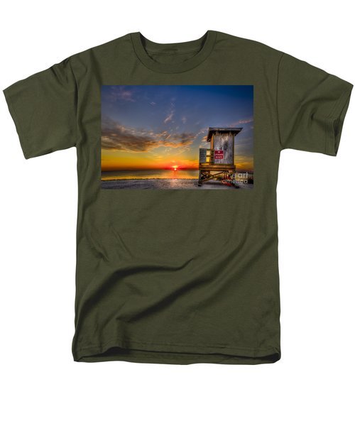 No Life Guard On Duty Men's T-Shirt  (Regular Fit) by Marvin Spates