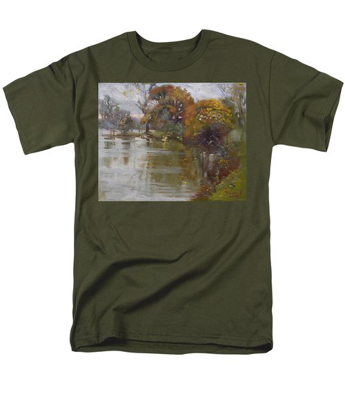 November 4th At Hyde Park Men's T-Shirt  (Regular Fit) by Ylli Haruni