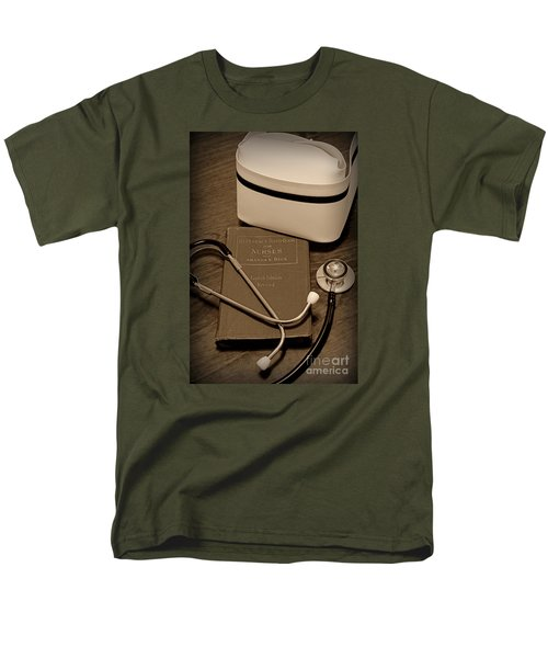 Nurse - The Care Giver Men's T-Shirt  (Regular Fit) by Paul Ward
