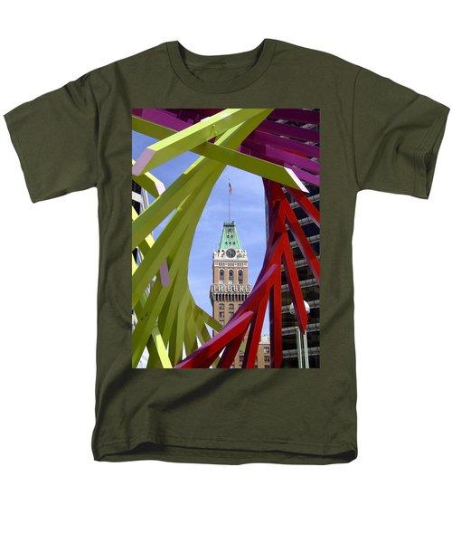 Oakland Tribune Men's T-Shirt  (Regular Fit) by Donna Blackhall