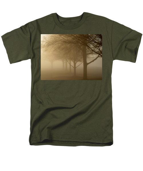 Men's T-Shirt  (Regular Fit) featuring the photograph Oaks In The Fog by Greg Simmons