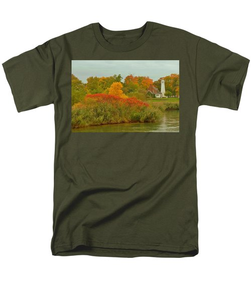 October Light Men's T-Shirt  (Regular Fit) by Daniel Thompson