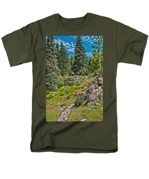 Ohme Gardens Men's T-Shirt  (Regular Fit) by Sonya Lang