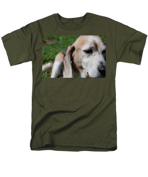 Old Is Beautiful Men's T-Shirt  (Regular Fit) by Jennifer Ancker