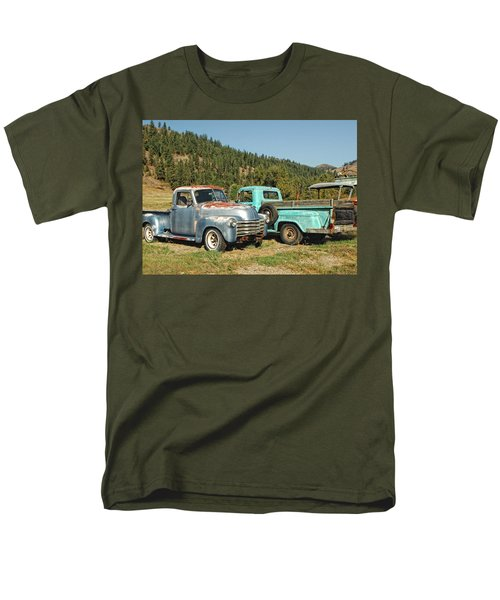Old Timers Men's T-Shirt  (Regular Fit) by Donna Blackhall