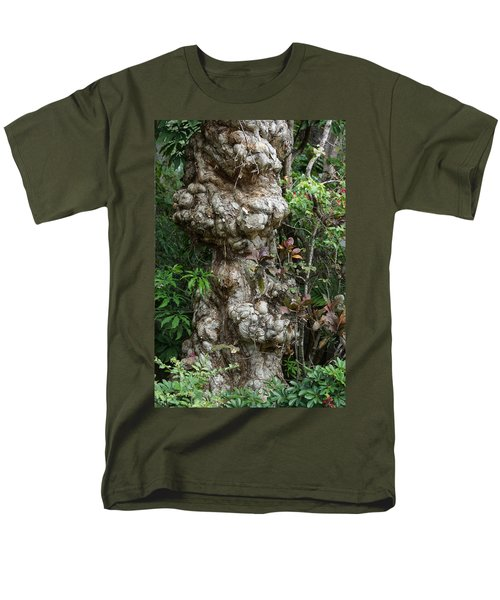 Men's T-Shirt  (Regular Fit) featuring the mixed media Old Tree by Rafael Salazar
