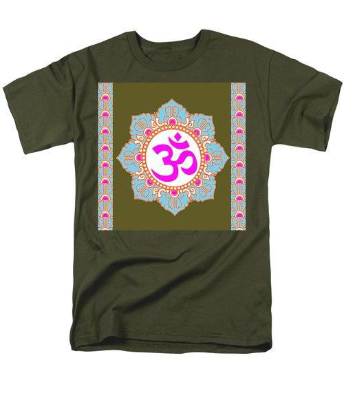Om Mantra Ommantra 3 Men's T-Shirt  (Regular Fit) by Navin Joshi