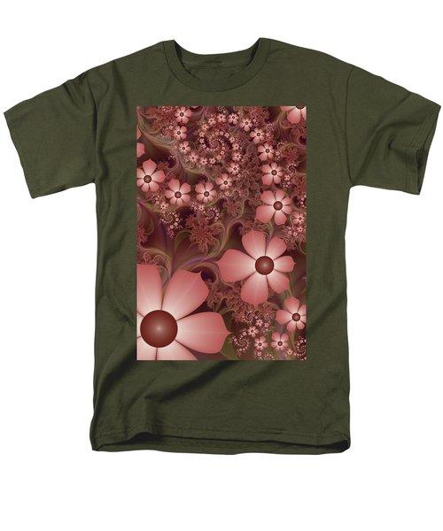 Men's T-Shirt  (Regular Fit) featuring the digital art On A Summer Evening by Gabiw Art