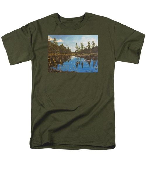 O'neal Lake Men's T-Shirt  (Regular Fit) by Wendy Shoults