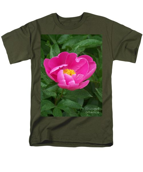 Men's T-Shirt  (Regular Fit) featuring the photograph Peony  by Eunice Miller
