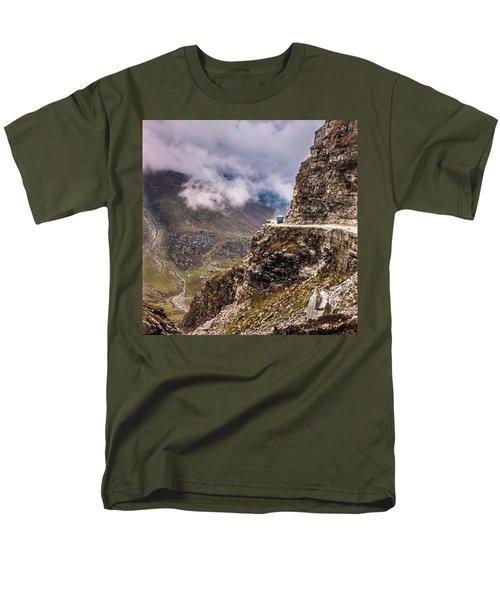 Our Bus Journey Through The Himalayas Men's T-Shirt  (Regular Fit)