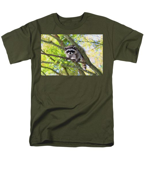 Out On A Limb Men's T-Shirt  (Regular Fit) by Kym Backland
