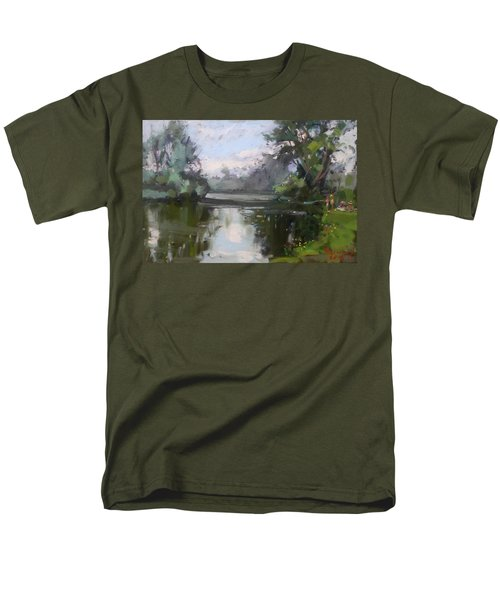 Outdoors At Hyde Park Men's T-Shirt  (Regular Fit) by Ylli Haruni