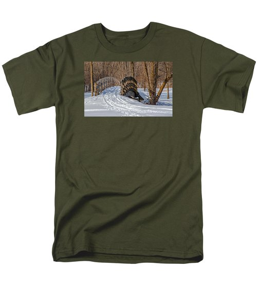 Over The River And Through The Woods Men's T-Shirt  (Regular Fit) by Susan  McMenamin