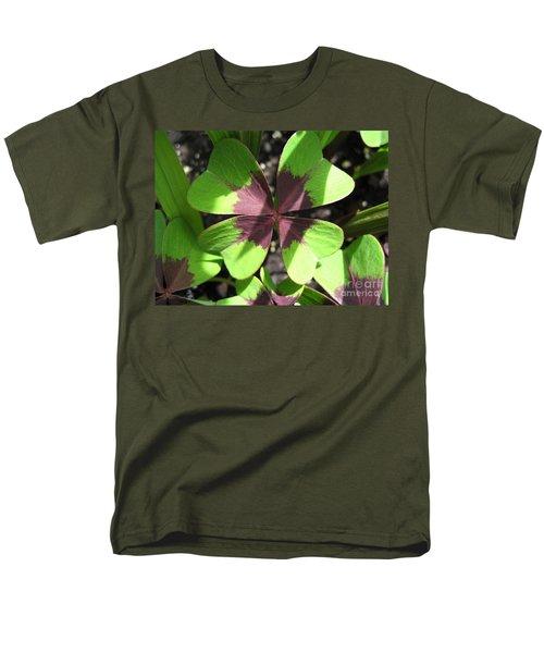 Oxalis Deppei Named Iron Cross Men's T-Shirt  (Regular Fit) by J McCombie