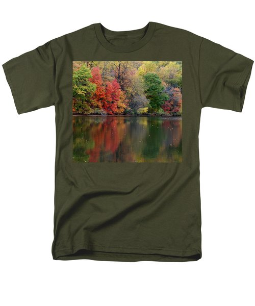 Men's T-Shirt  (Regular Fit) featuring the photograph Painted Water by Richard Bryce and Family