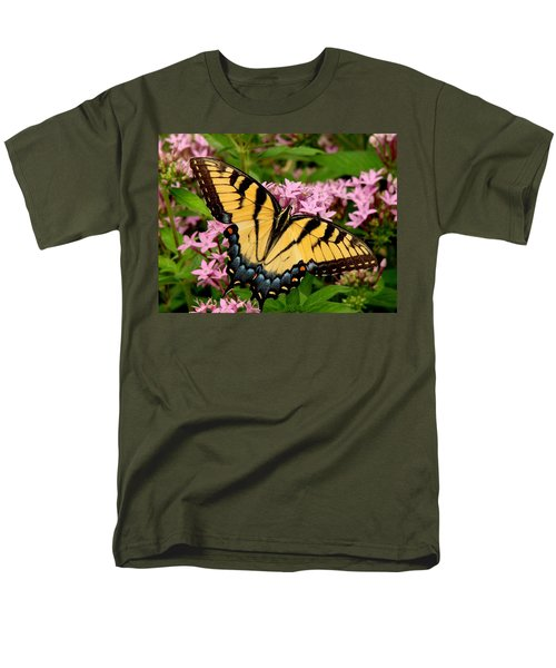 Painted Wings Men's T-Shirt  (Regular Fit) by Rodney Lee Williams
