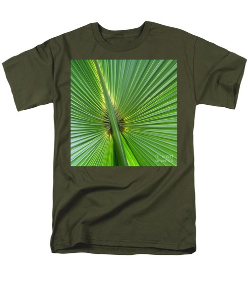 Men's T-Shirt  (Regular Fit) featuring the photograph Palm Love by Roselynne Broussard