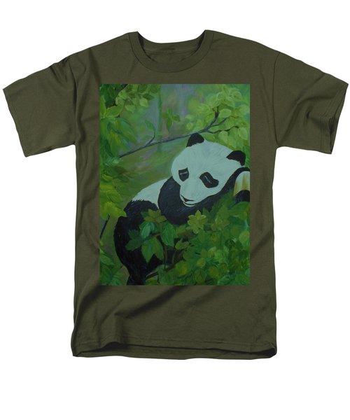 Panda Men's T-Shirt  (Regular Fit) by Christy Saunders Church
