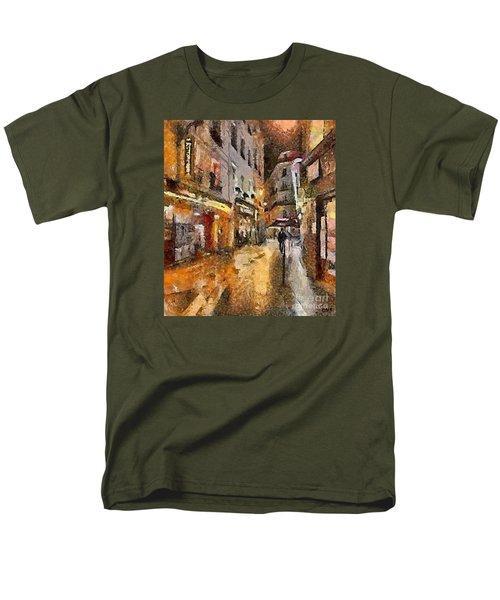 Paris St. Germain Men's T-Shirt  (Regular Fit)