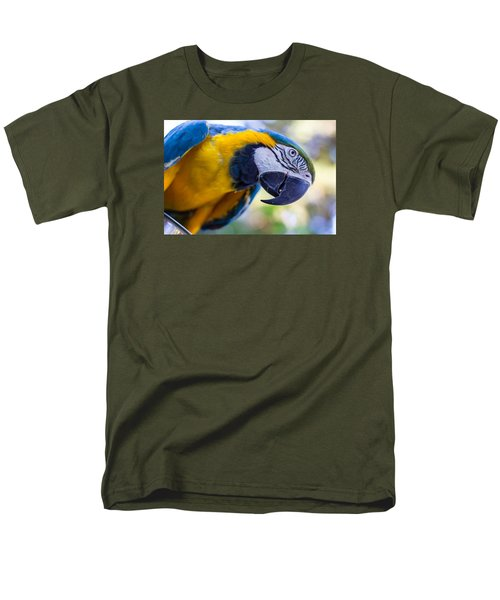 Men's T-Shirt  (Regular Fit) featuring the photograph Parrot by Randy Bayne