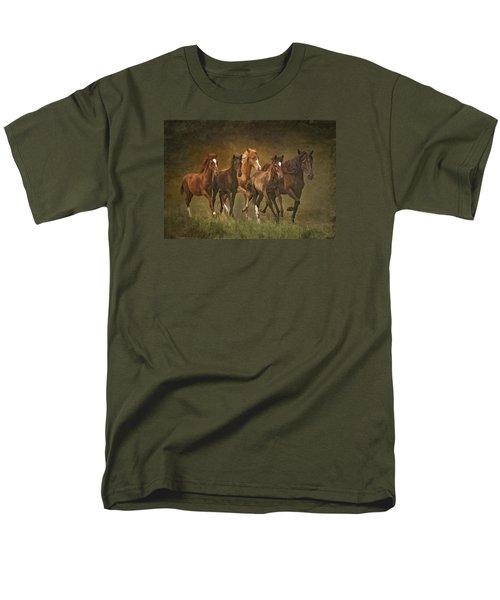 Paso Peruvians Men's T-Shirt  (Regular Fit) by Priscilla Burgers