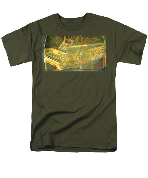 Men's T-Shirt  (Regular Fit) featuring the mixed media Past To Present by Ally  White