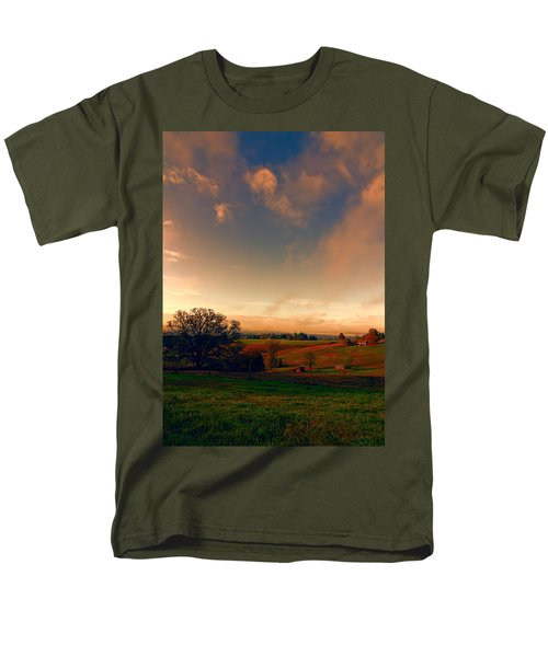 Pastureland Men's T-Shirt  (Regular Fit) by Don Schwartz