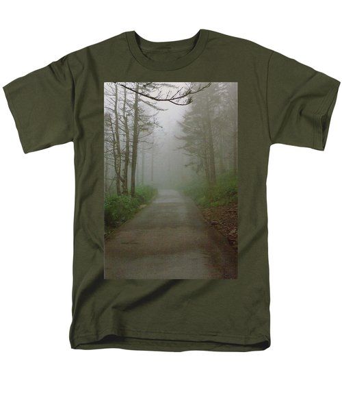Path To Clingmans Dome Men's T-Shirt  (Regular Fit) by Karin Thue