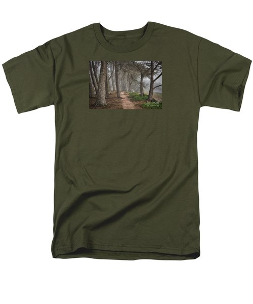 Pathway Men's T-Shirt  (Regular Fit) by Alice Cahill