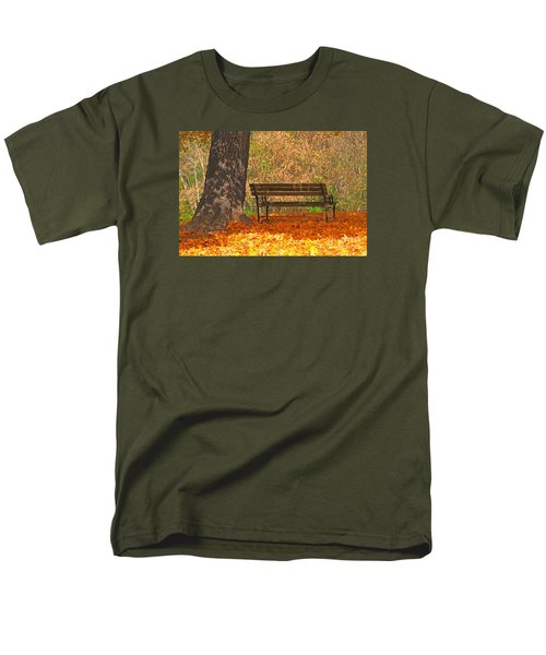 Men's T-Shirt  (Regular Fit) featuring the photograph Peace And Quiet by Geraldine DeBoer