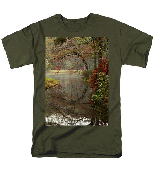 Peace In A Garden Men's T-Shirt  (Regular Fit) by Kathy Clark
