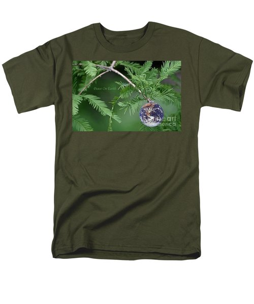 Peace On Earth Men's T-Shirt  (Regular Fit) by Living Color Photography Lorraine Lynch
