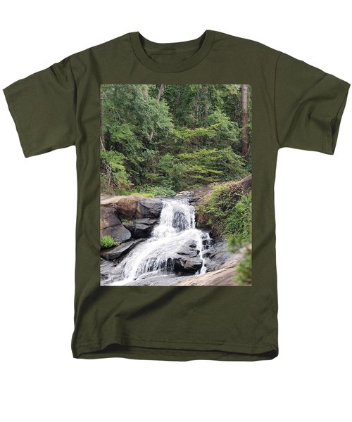 Men's T-Shirt  (Regular Fit) featuring the photograph Peaceful Retreat by Aaron Martens